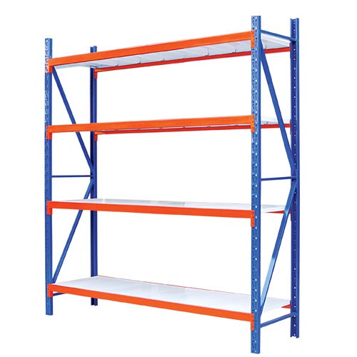 4 Layers Middle Duty Warehouse Rack Industrial Shelving 2000x600x2000mm