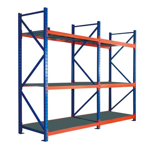 3 Layers Heavy Duty Warehouse Storage Rack 2000x1000x3000mm Steel Shelf